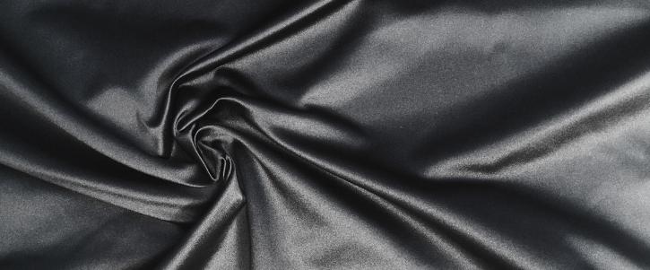 Seidenduchesse - schwarz