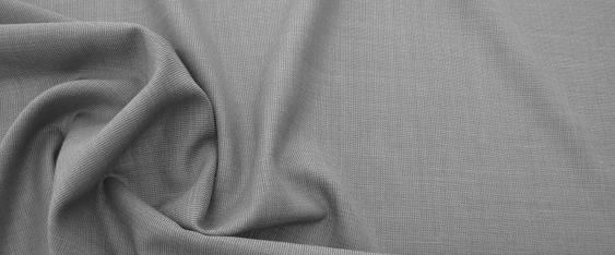 Schurwolle mit Nylon - grau