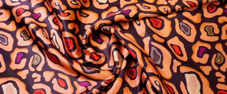 glänzende Kostümware - animalprint