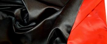 Seidenmischung - rot-schwarz