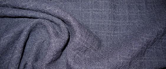 Schurwollmischung - nachtblau