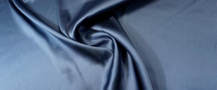 schwerer Seidenstretch - dunkelblau