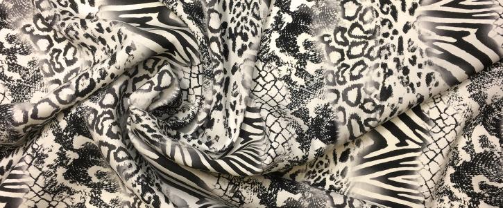 Seidenstretch - animalprint