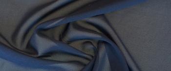 Seidenstretch - nachtblau