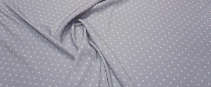 Seidenstretch - Polka dots, mint