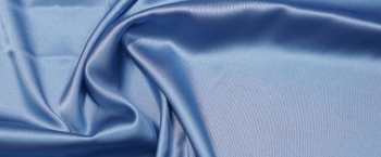 Seidenstretch - blaugrau
