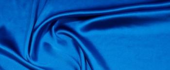 Seidenstretch - königsblau