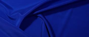 Seidenstretch - ultramarinblau