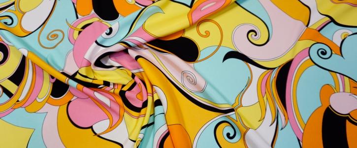 Seidenstretch - abstraktes Muster