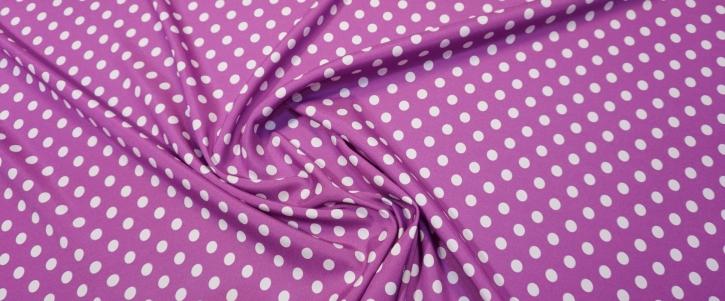 Seidenstretch - polka dots