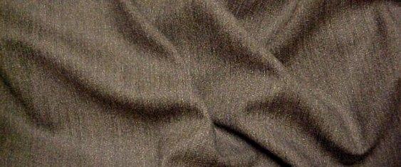 Schurwollmischung - nougat/schwarz