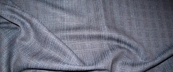 Rest Schurwolle, schwarz und blau