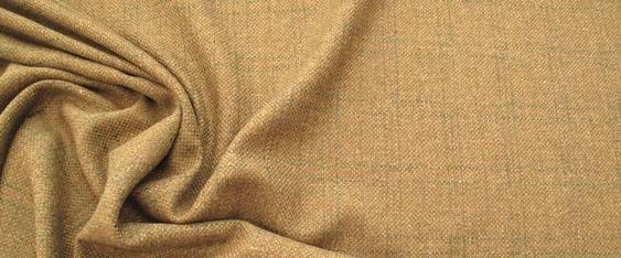 Schurwollmischung beige-orange/oliv