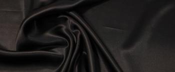Satin - schwarz