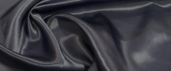Seidensatin - dunkles blaugrau