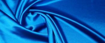 Seidensatin - königsblau