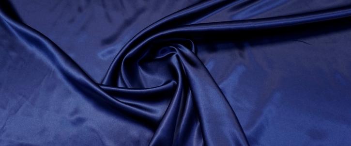 Seidensatin - dunkelblau