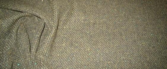 Schurwollmischung beige/oliv/schwarz