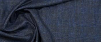 Rest Seidenmiix in schwarz/blau