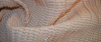 Seidenmischung - rosa und beige