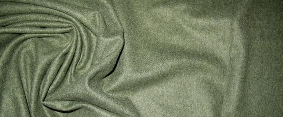 Schurwollmischung - schilfgrün