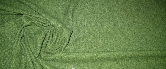 Schurwollmischung - grün/gelb