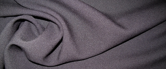 Schurwollmischung - schwarz
