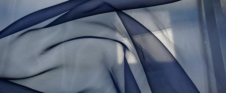 Organza - dunkelblau