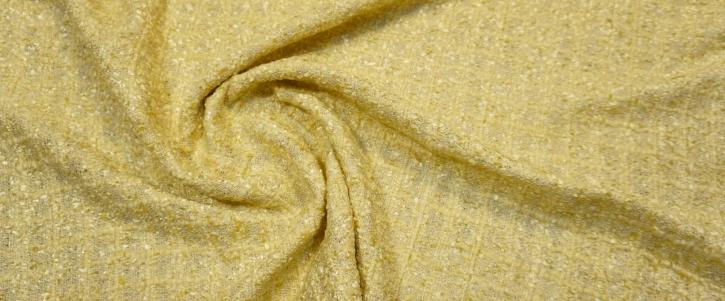 sommerlicher Boucle - gelb