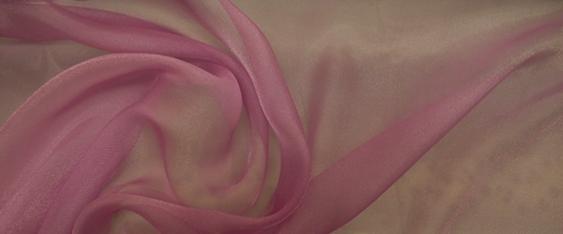 Seidenmischung - Chiffon lila