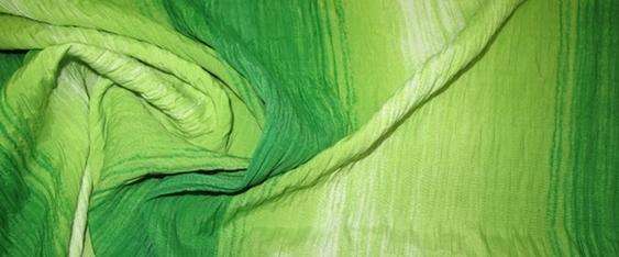 Coupon Baumwoll-Smokware grün