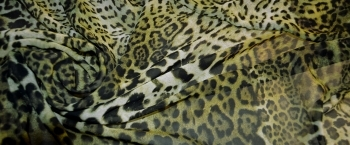 Chiffon - animal print