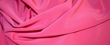 Polyester - himbeerfarben