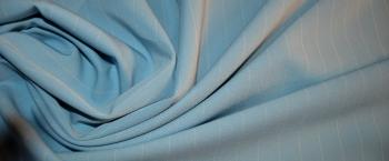 Nadelstreifen - himmelblau