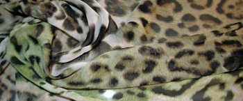 Coupon Chiffon - Animal Print