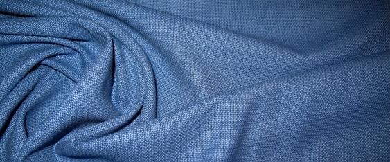 Schurwollmischung - königsblau