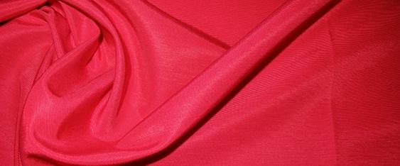 Rest Baumwollmischung - erdbeerfarben