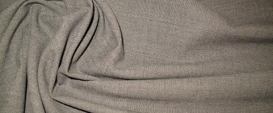 Schurwollmischung - graubeige