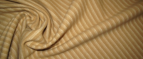 Schurwolle - diagonal gestreift