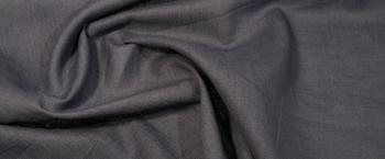 Kostümleinen - blau/grau