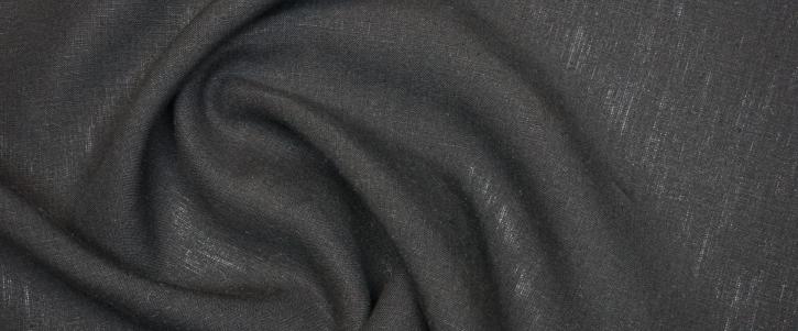 Leinen - schwarz
