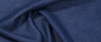 Leinen - jeansblau