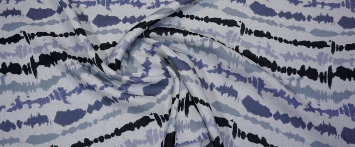 Leinen - Blautöne