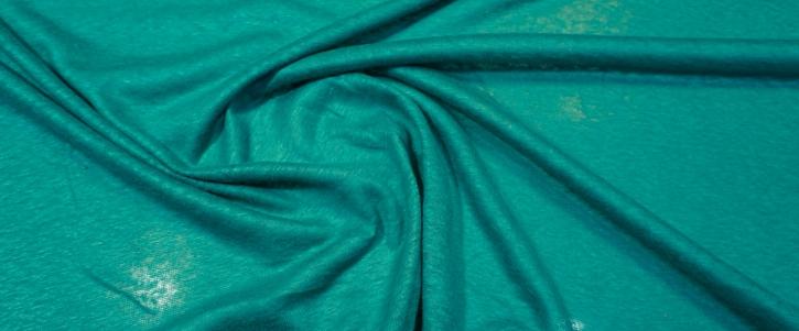 Leinenjersey - smaragdgrün