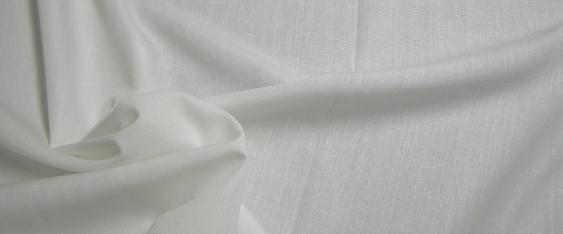 Viskosemischung im Leinen-Look weiß