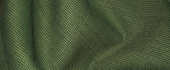 Coupon Viskosegemisch grün/ecru