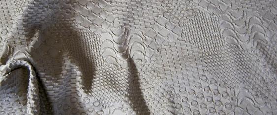 Baumwollmischung - Prägestruktur