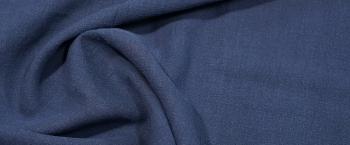 Rest Leinenmischung - dunkelblau