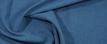 Rest Leinenmischung - blautürkis