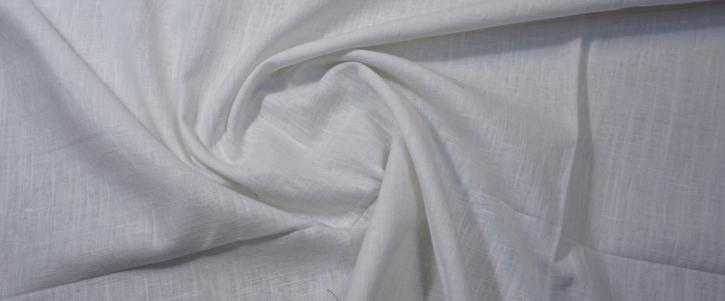 Leinen mit Baumwolle - ecru